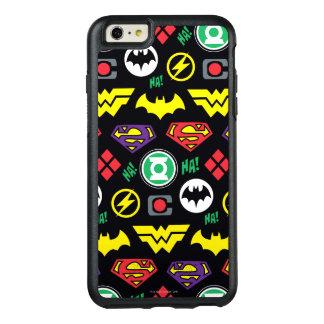 Coque OtterBox iPhone 6 Et 6s Plus Motif de logo de ligue de justice de Chibi