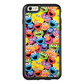 Coque OtterBox iPhone 6 Et 6s Plus Motif de visages de caractère de Sesame Street