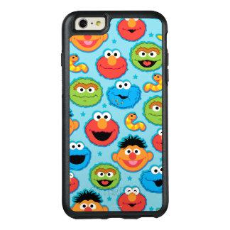 Coque OtterBox iPhone 6 Et 6s Plus Motif de visages de Sesame Street sur le bleu
