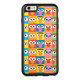 Coque OtterBox iPhone 6 Et 6s Plus Motif de yeux de caractère de Sesame Street