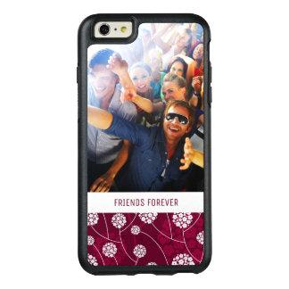 Coque OtterBox iPhone 6 Et 6s Plus Motif floral abstrait fait sur commande de photo