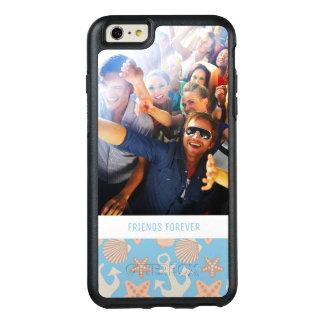 Coque OtterBox iPhone 6 Et 6s Plus Motif nautique en pastel | votre photo et texte