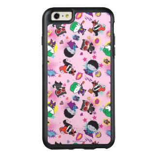 Coque OtterBox iPhone 6 Et 6s Plus Motif superbe d'action de voyou de Chibi