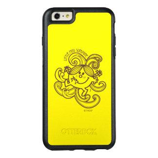Coque OtterBox iPhone 6 Et 6s Plus Petite Mlle Sunshine | remous noirs et de blanc