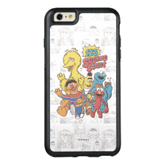 Coque OtterBox iPhone 6 Et 6s Plus Sesame Street du cru 123