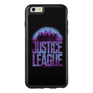 Coque OtterBox iPhone 6 Et 6s Plus Silhouette de ville de ligue de justice de la