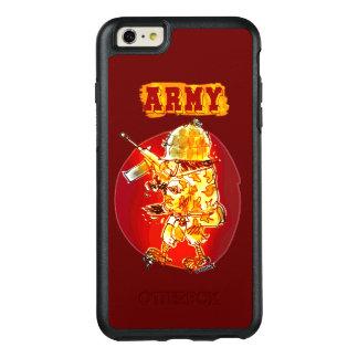 Coque OtterBox iPhone 6 Et 6s Plus style de bande dessinée de soldat d'aigle d'armée