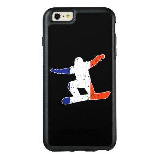 Coque OtterBox iPhone 6 Et 6s Plus SURFEUR tricolore français (blanc)