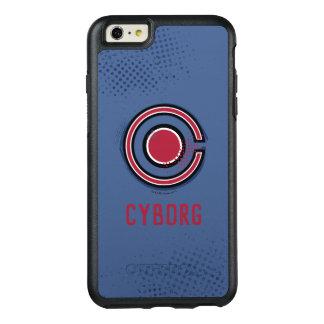 Coque OtterBox iPhone 6 Et 6s Plus Symbole de cyborg de brosse et d'image tramée de