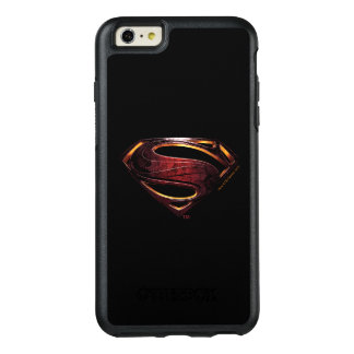 Coque OtterBox iPhone 6 Et 6s Plus Symbole métallique de la ligue de justice |