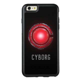 Coque OtterBox iPhone 6 Et 6s Plus Symbole rougeoyant de cyborg de la ligue de