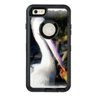 Coque OtterBox iPhone 6 Et 6s Plus Un oiseau blanc et son grand bec