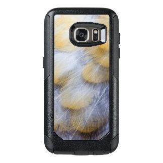 Coque OtterBox Samsung Galaxy S7 Abrégé sur d'or pâle plume de grive