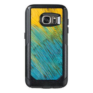 Coque OtterBox Samsung Galaxy S7 Abrégé sur plume de perroquet d'Amazone