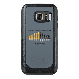 Coque OtterBox Samsung Galaxy S7 Anticipez le futur humour de conseil d'échecs de