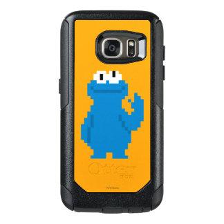 Coque OtterBox Samsung Galaxy S7 Art de pixel de monstre de biscuit