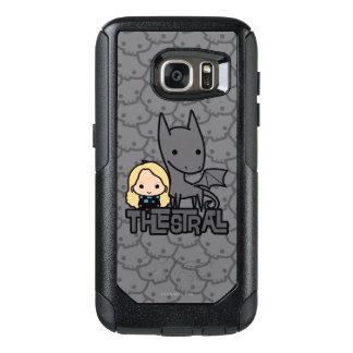 Coque OtterBox Samsung Galaxy S7 Bande dessinée Thestral et art de caractère de
