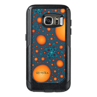 Coque OtterBox Samsung Galaxy S7 Bulles oranges