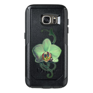 Coque OtterBox Samsung Galaxy S7 Caisses vertes uniques de Samsung de style