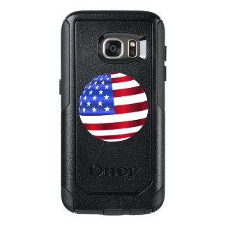 Coque OtterBox Samsung Galaxy S7 Cas de série de banlieusard de la galaxie S7 de