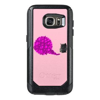 Coque OtterBox Samsung Galaxy S7 Cas de téléphone de chaton pour la galaxie S7 de