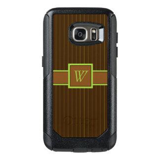 Coque OtterBox Samsung Galaxy S7 Cas de téléphone d'Otterbox de filets de chocolat