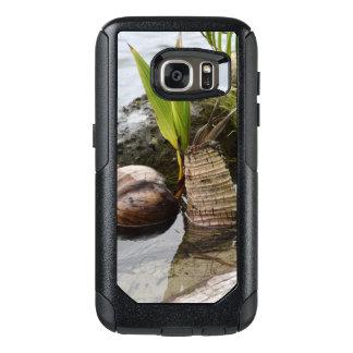 Coque OtterBox Samsung Galaxy S7 Cas fait sur commande tropical de téléphone de
