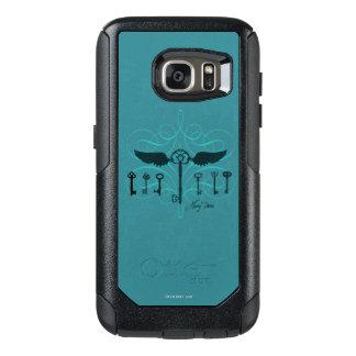 Coque OtterBox Samsung Galaxy S7 Clés volantes du charme | de Harry Potter