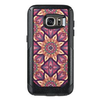Coque OtterBox Samsung Galaxy S7 Conception florale de motif d'abrégé sur mandala