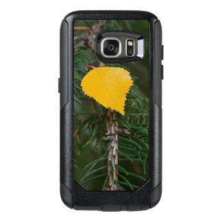 Coque OtterBox Samsung Galaxy S7 Congé jaune d'Aspen sur la photographie à