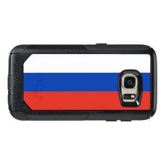 Coque OtterBox Samsung Galaxy S7 Drapeau de cas de la Russie Samsung OtterBox