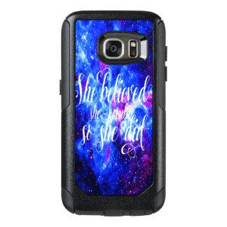 Coque OtterBox Samsung Galaxy S7 Elle a cru au rêve de l'amant