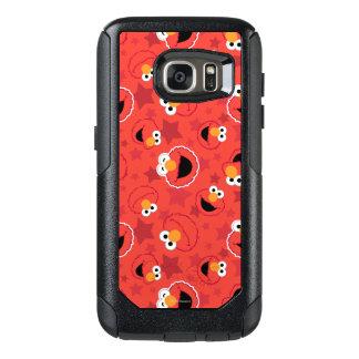 Coque OtterBox Samsung Galaxy S7 Elmo rouge fait face au motif