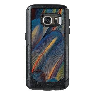 Coque OtterBox Samsung Galaxy S7 Éventées plumes d'ara d'écarlate