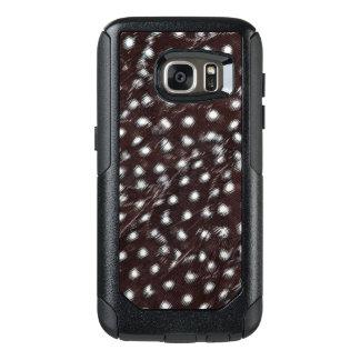 Coque OtterBox Samsung Galaxy S7 Guineafowl a repéré l'abrégé sur plume