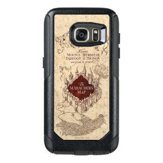 Coque OtterBox Samsung Galaxy S7 La carte du maraudeur du charme | de Harry Potter