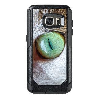 Coque OtterBox Samsung Galaxy S7 Le plot réflectorisé vert hypnotisant