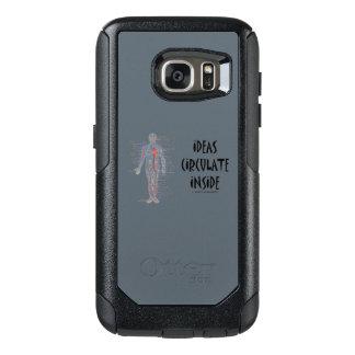 Coque OtterBox Samsung Galaxy S7 Les idées circulent à l'intérieur de l'humour