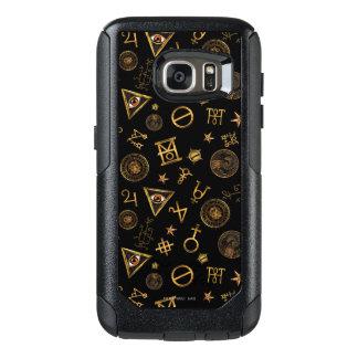 Coque OtterBox Samsung Galaxy S7 M.A.C.U.S.A. Symboles et motif magiques de crêtes
