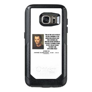 Coque OtterBox Samsung Galaxy S7 Machiavel trois classes de citation d'intellects