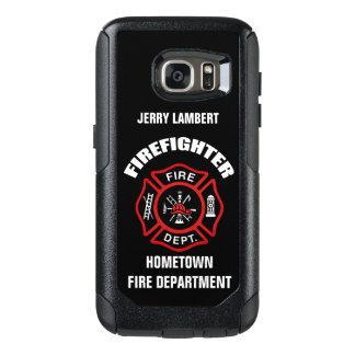 Coque OtterBox Samsung Galaxy S7 Modèle nommé de sapeur-pompier