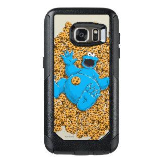Coque OtterBox Samsung Galaxy S7 Monstre vintage et biscuits de biscuit