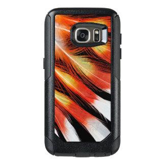 Coque OtterBox Samsung Galaxy S7 Motif de plume de cacatoès
