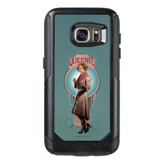 Coque OtterBox Samsung Galaxy S7 Panneau d'art déco de Queenie Goldstein