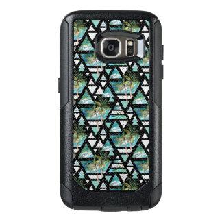 Coque OtterBox Samsung Galaxy S7 Paumes géométriques abstraites et motif de vagues