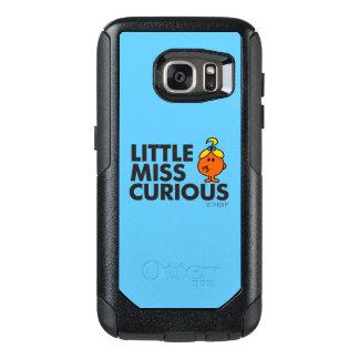 Coque OtterBox Samsung Galaxy S7 Petit lettrage noir de Mlle Curious |
