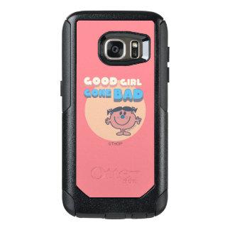Coque OtterBox Samsung Galaxy S7 Petite bonne fille de Mlle Bad | détériorée