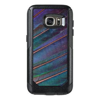 Coque OtterBox Samsung Galaxy S7 Plumes bleues de Turaco