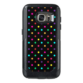 Coque OtterBox Samsung Galaxy S7 Point de polka de caisse de la galaxie S7 de