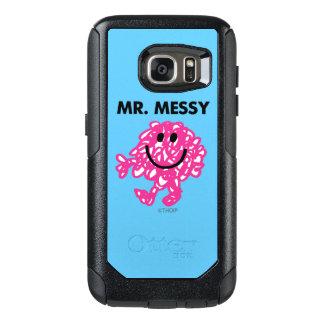 Coque OtterBox Samsung Galaxy S7 Pose classique de M. Messy |